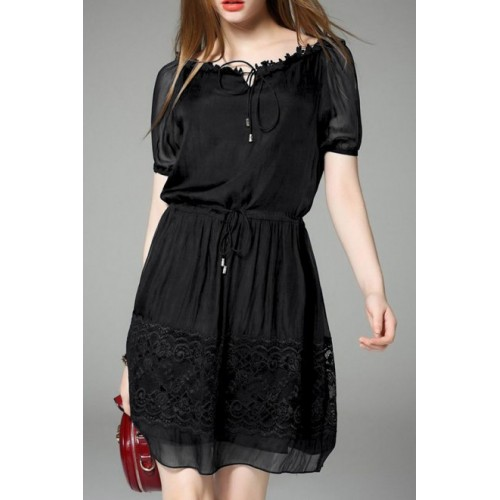 Cotton Lacy Dress